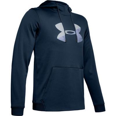 Under Armour Armour Fleece Pullover Big Logo Graphic Hoodie Men's