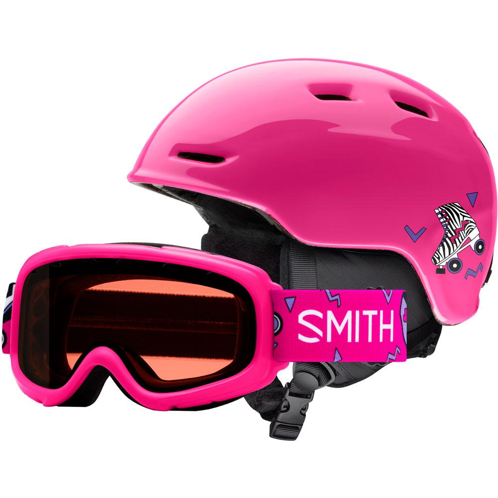 Smith Zoom Jr Helmet/Gambler Combo Goggles Kids '
