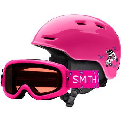 Smith Zoom Jr Helmet/Gambler Combo Goggles Kids'