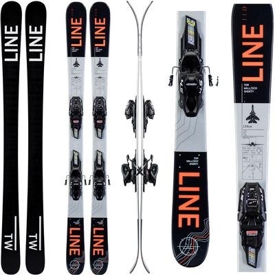 Line Wallisch Shorty Skis Kids' 2020