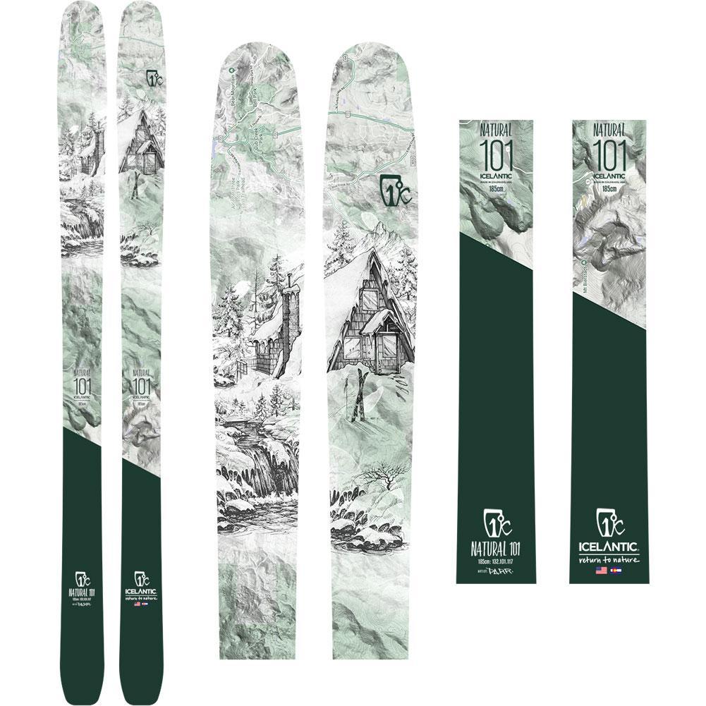 Icelantic Natural 101 Skis Men's 2020