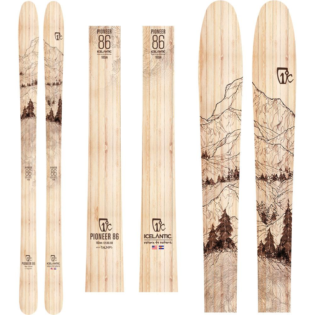 Icelantic Pioneer 86 Skis Men's 2020