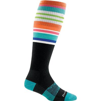 Darn Tough Vermont Glacier Stripe Over-The-Calf Light Socks Women's