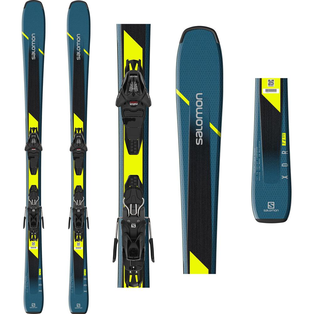 Salomon Xdr 76 St C Skis With L10 Bindings 2020