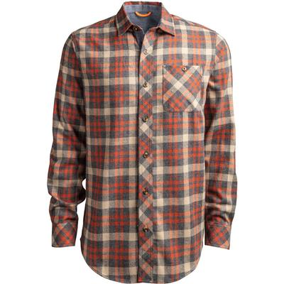 Timberland Pro Woodfort Mid-Weight Flannel Work Shirt Men's