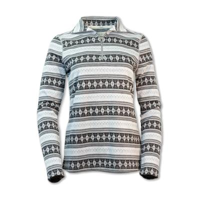 Purnell Fair Isle Half Zip Sweater Women's