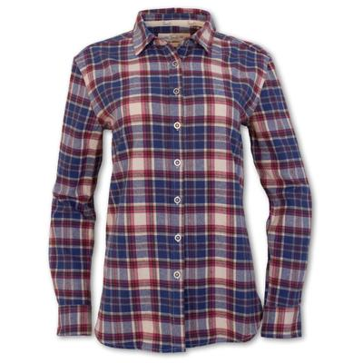 Purnell Plaid Flannel Button-Up Shirt Women's