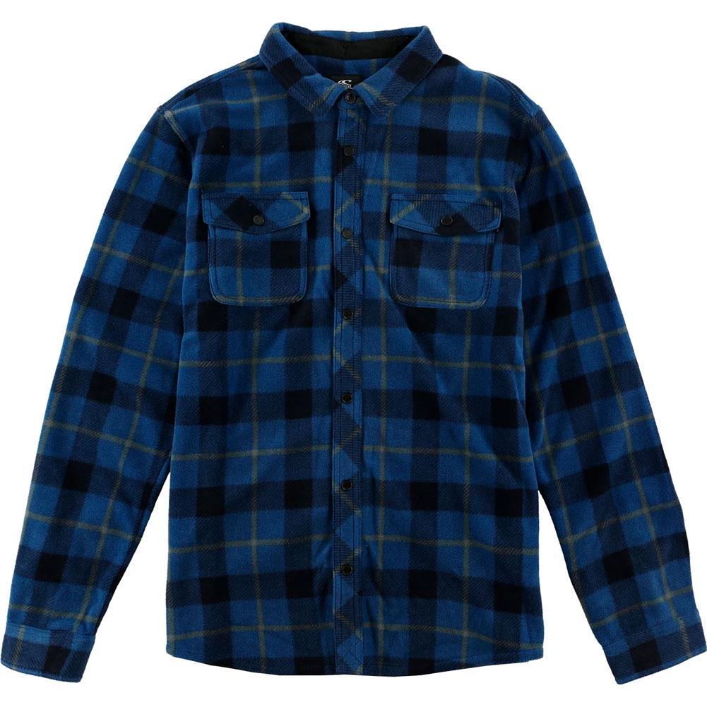 ONeill Mens Glacier Plaid Flannel Shirt