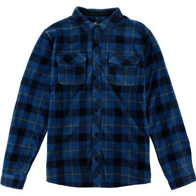 Oneill Glacier Plaid Superfleece Flannel Shirt Men's