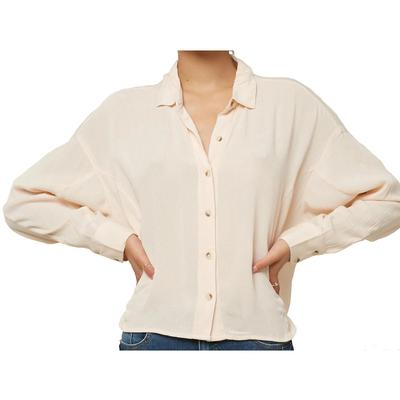 Oneill Braxton Button Up Top Women's