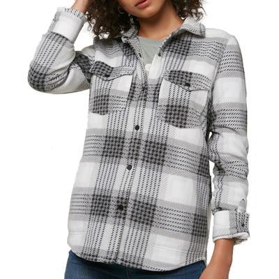 Oneill Zuma Superfleece Flannel Shirt Women's