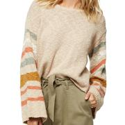 Oneill Mandalay Wide Neck Sweater Women's OATMEAL HEATHER