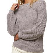 Oneill Sailaway Knit Pullover Sweater Women's GREY FOG