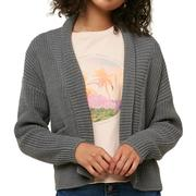 Oneill Anchor Cardigan Sweater Women's CHARCOAL