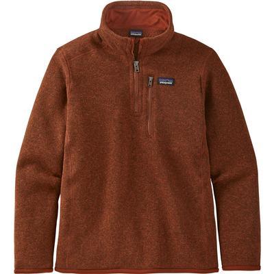 Patagonia Better Sweater 1/4 Zip Fleece Top Boys'