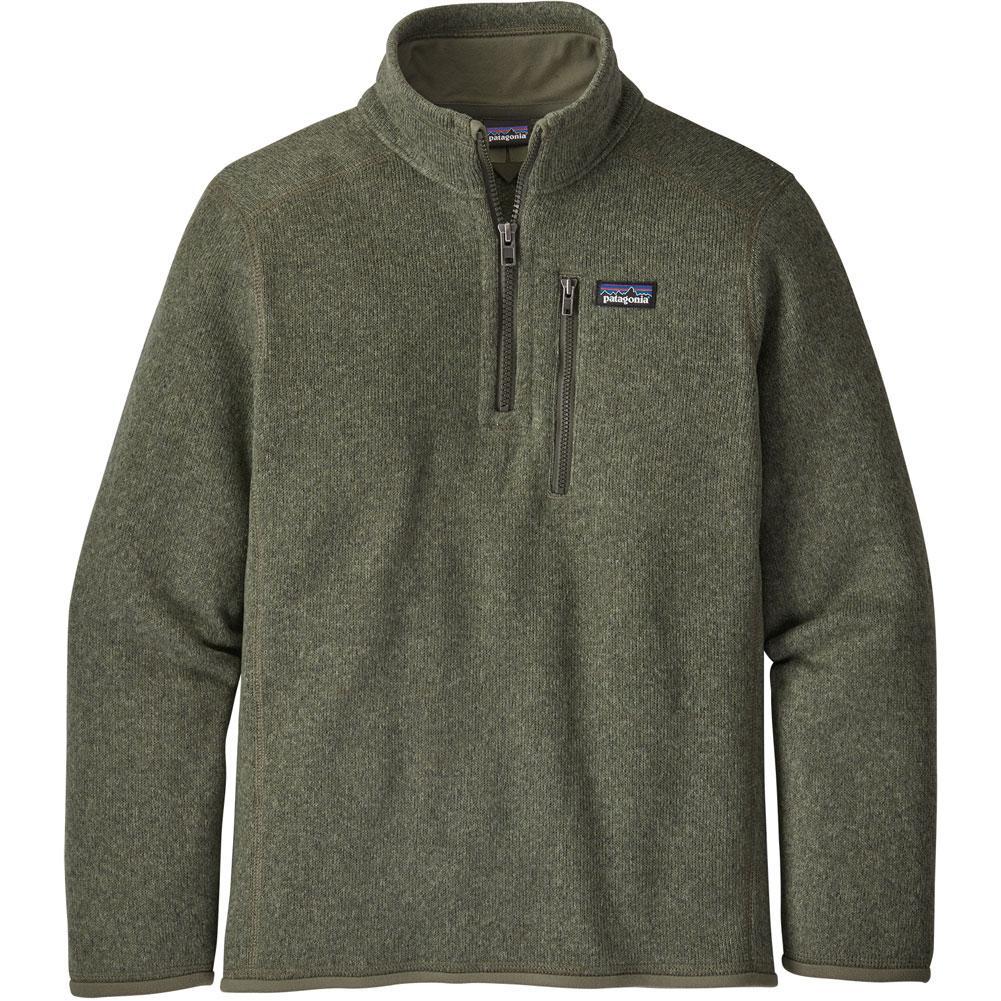 Patagonia Better Sweater 1/4 Zip Fleece Top Boys '