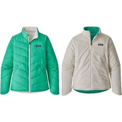 Patagonia Reversible Snow Flower Jacket Girls'