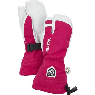 Hestra Heli Ski Jr 3-Finger Mitts Kids'