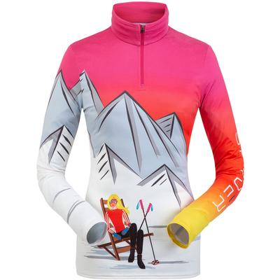 Spyder Sunset Zip T-Neck Women's