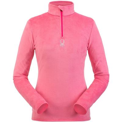 Spyder Shimmer Bug Zip T-Neck Women's