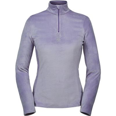 Spyder Shimmer Bug Zip T-Neck Top Women's