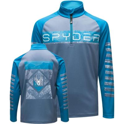 Spyder Limitless Peak Zip T-Neck Boys'