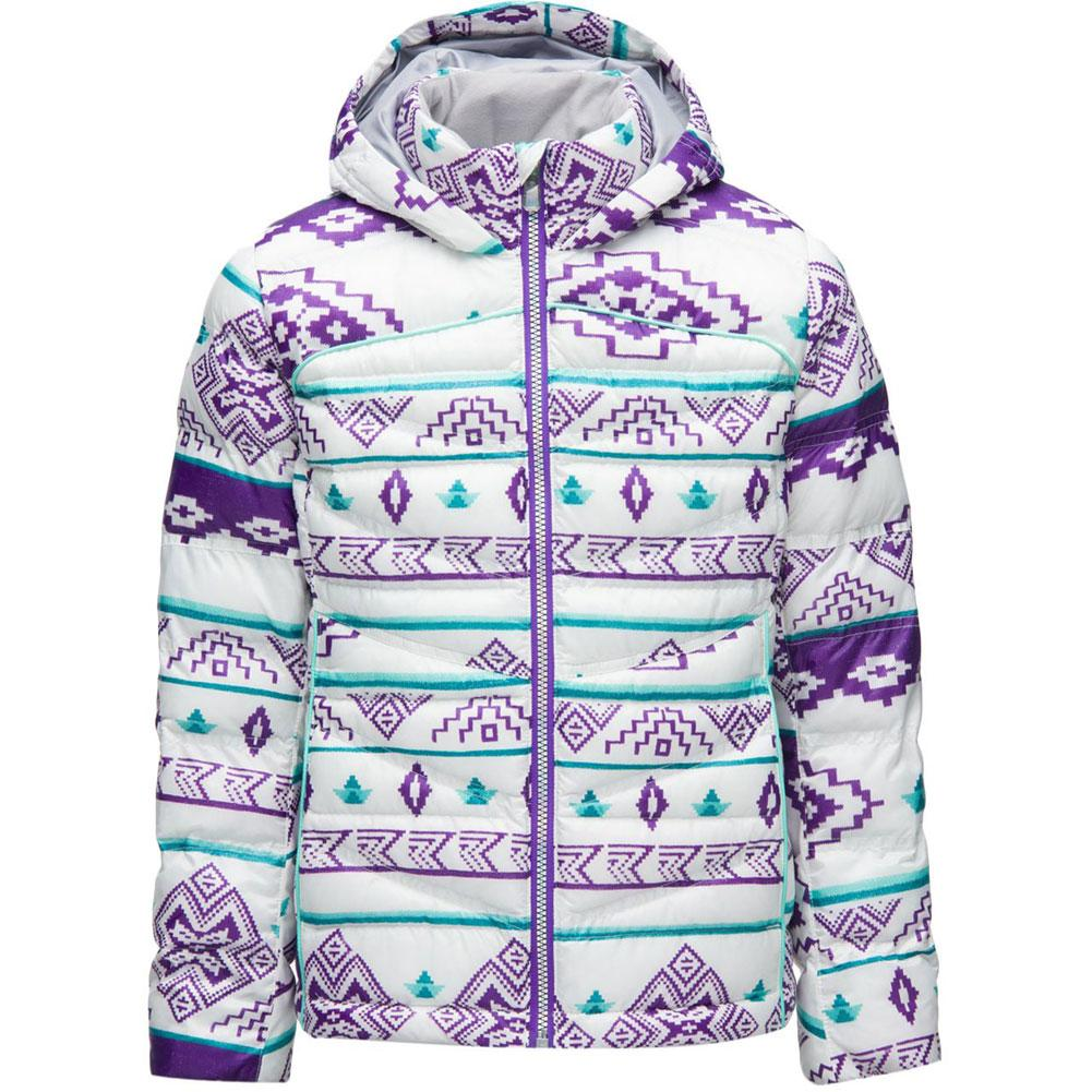 Spyder Timeless Hoodie Synthetic Down Jacket Girls '