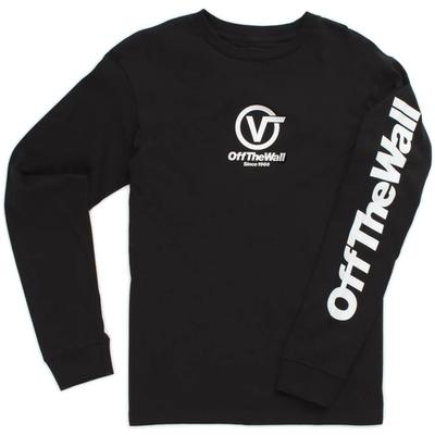 Vans Distorted Performance Long Sleeve T-Shirt Men's