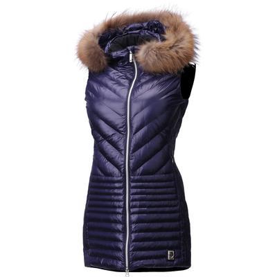 Descente Harper Real Fur Vest Women's