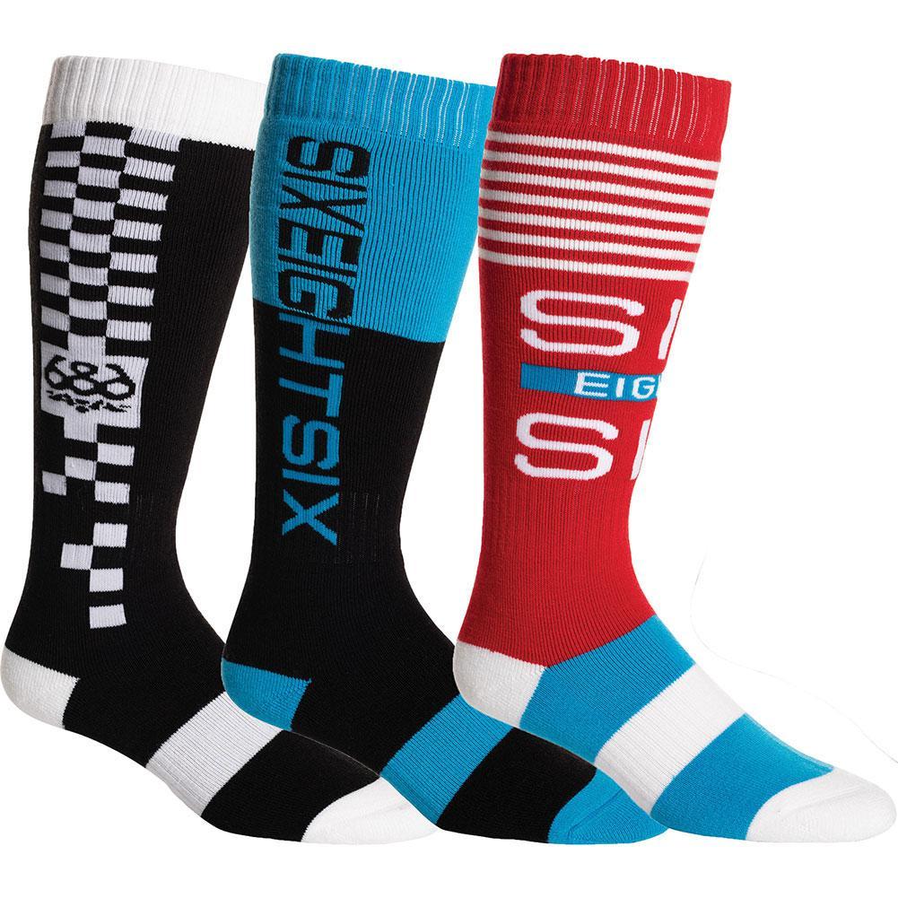 686 Knockout Socks (3- Pack) Men's