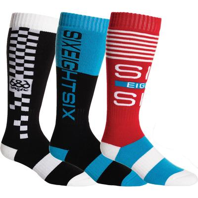 686 Knockout Socks (3-Pack) Men's