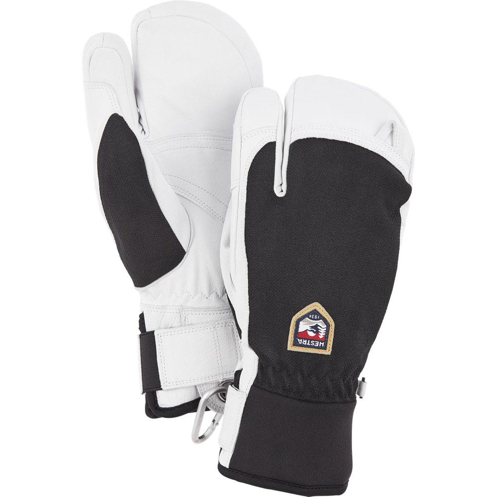 Hestra Army Leather Patrol 3- Finger Mitts Men's