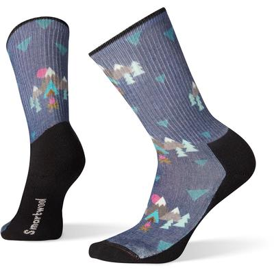Smartwool Hike Light Under The Stars Pattern Crew Sock Women's