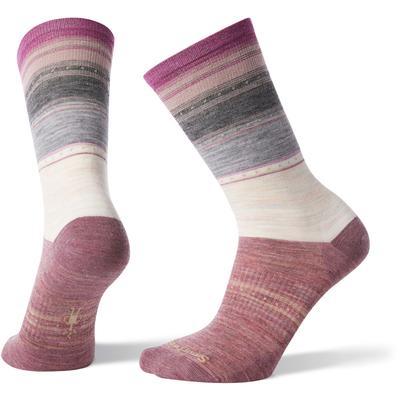 Smartwool Sulawesi Stripe Crew Socks Women's