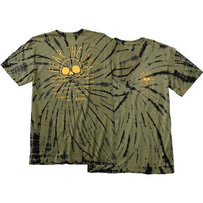 Roark Fear The Sea Tie Dye Short Sleeve Shirt Men's