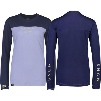 Mons Royale Yotei BF Tech LS Base Layer Top Women's