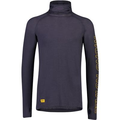 Mons Royale Temple Tech Flex Hooded Base Layer Top Men's
