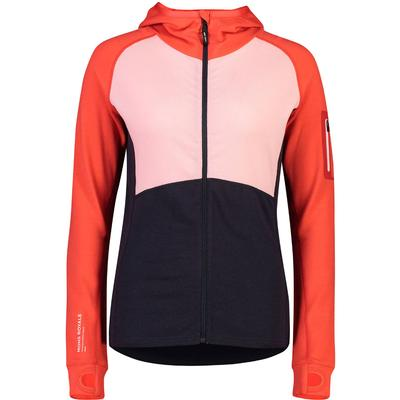 Mons Royale Ascend Midi Full Zip Hoodie Women's
