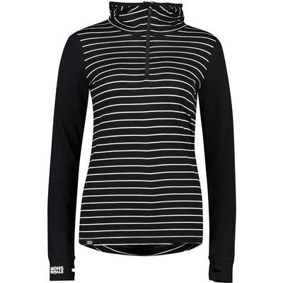 Mons Royale Cornice Hooded Base Layer Top Women's