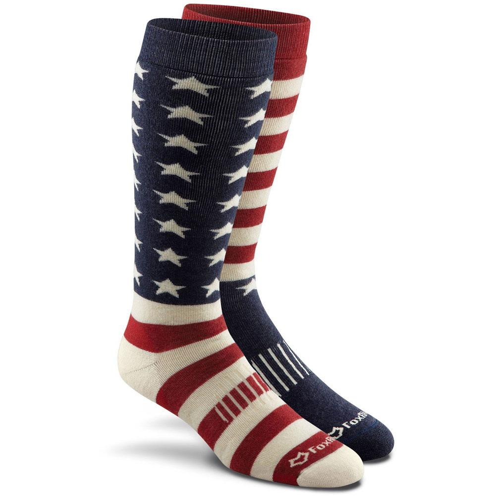 Fox River Old Glory Medium Weight Over- The- Calf Socks
