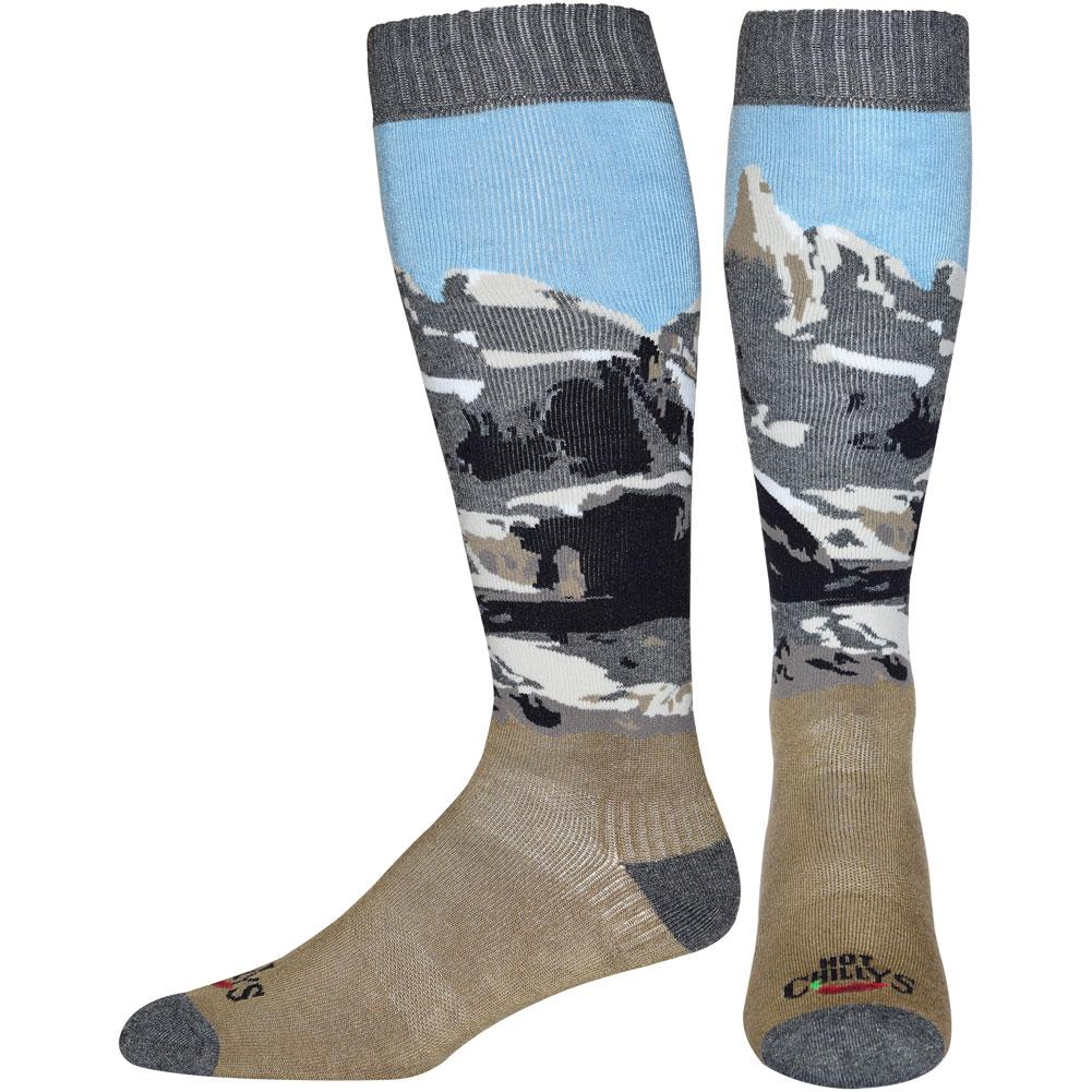 Hot Chillys Scenic Mid Volume Socks Men's