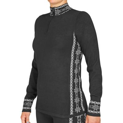 Hot Chillys Sweater Knit Zip-T Baselayer Top Women's