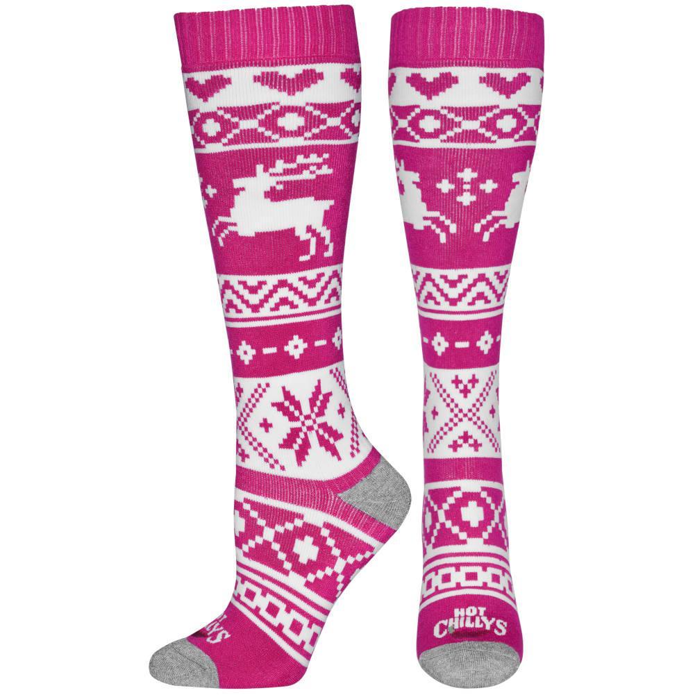 Hot Chillys Santa Baby Mid Volume Socks Women's