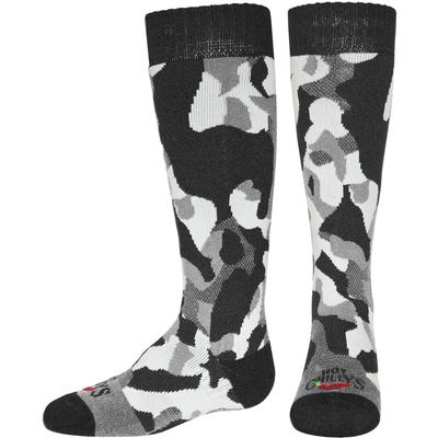 Hot Chillys TeXTured Camo Mid Volume Socks Kids'