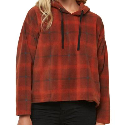 Oneill Hampton Superfleece Flannel Top Women's