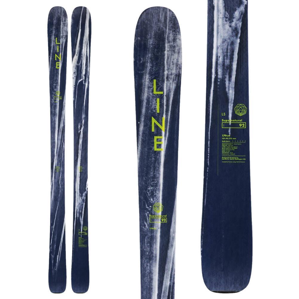 Line Supernatural 92 Skis Men's 2020