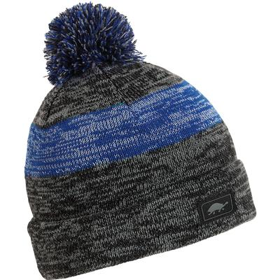Turtle Fur Reflective Shiner Pom Beanie