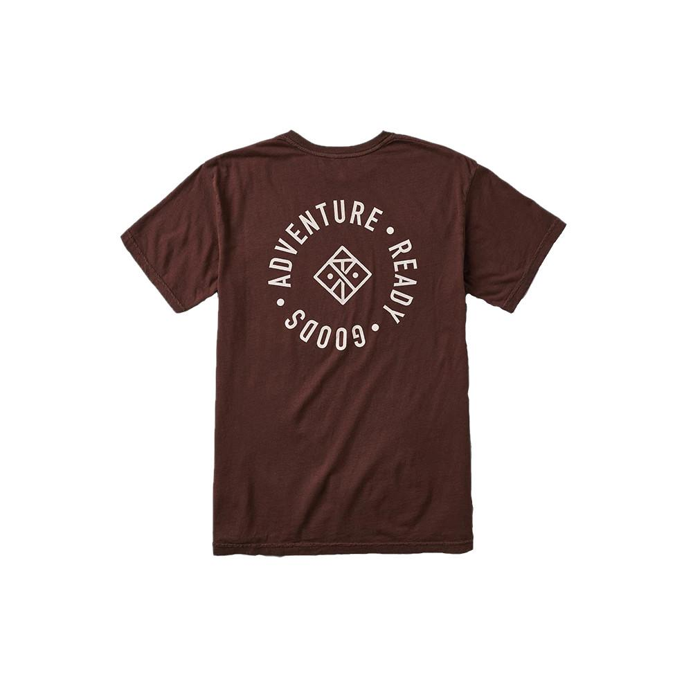 Roark Revival Adventure Ready Goods Garment Dye Premium Tee Men's