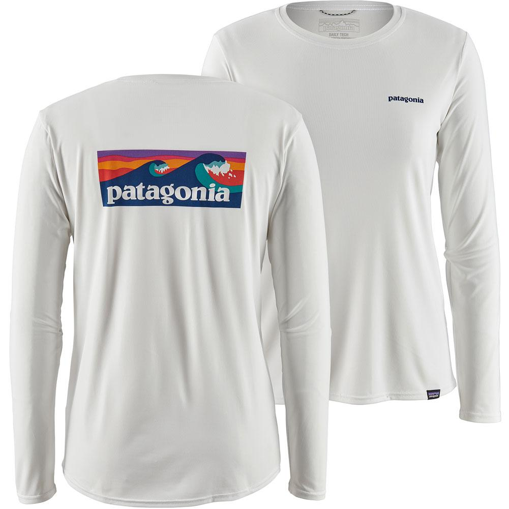 Patagonia Capilene Cool Daily Graphic Long- Sleeved Shirt Women's