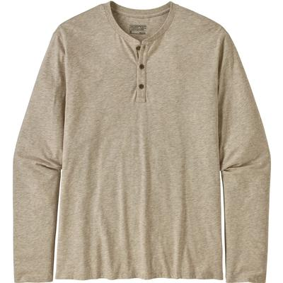 Patagonia Organic Cotton Lightweight Long Sleeve Henley Pullover Men's